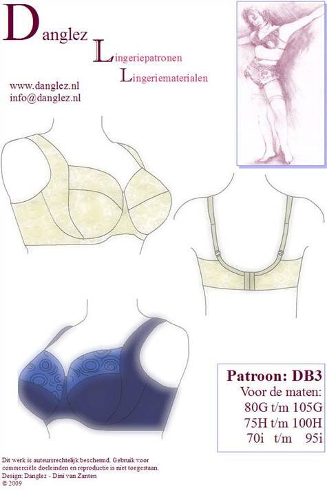 Danglez bra pattern